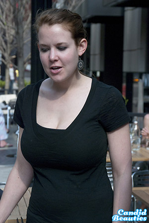 Big Tit Waitress
