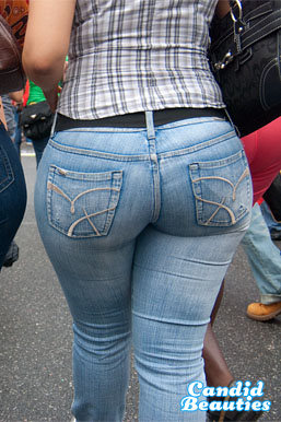 mega ass in tight jeans